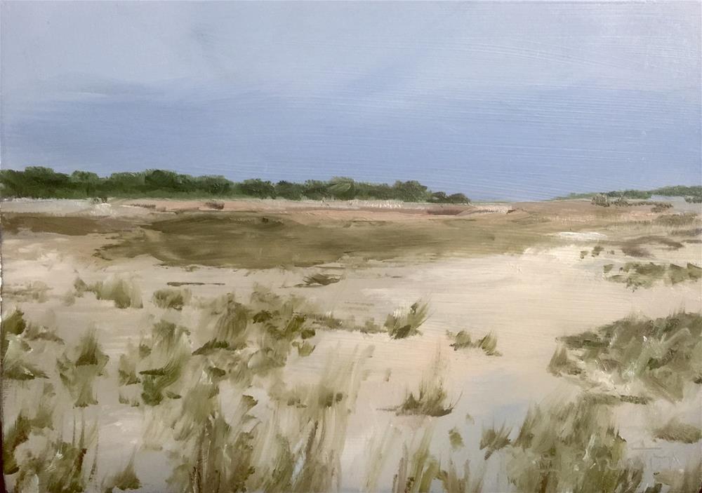 """Martha's Vineyard Coast"" original fine art by Gary Bruton"
