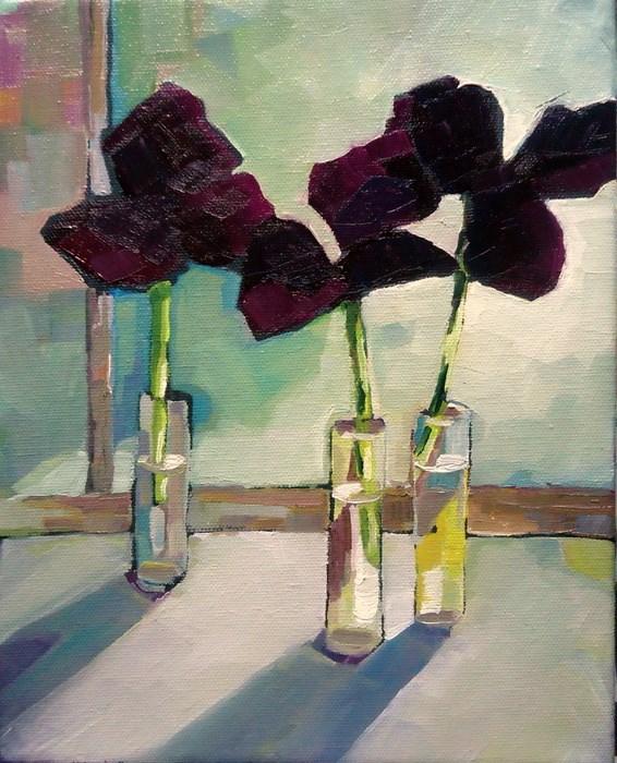 """Center Stage"" original fine art by Laurie Mueller"
