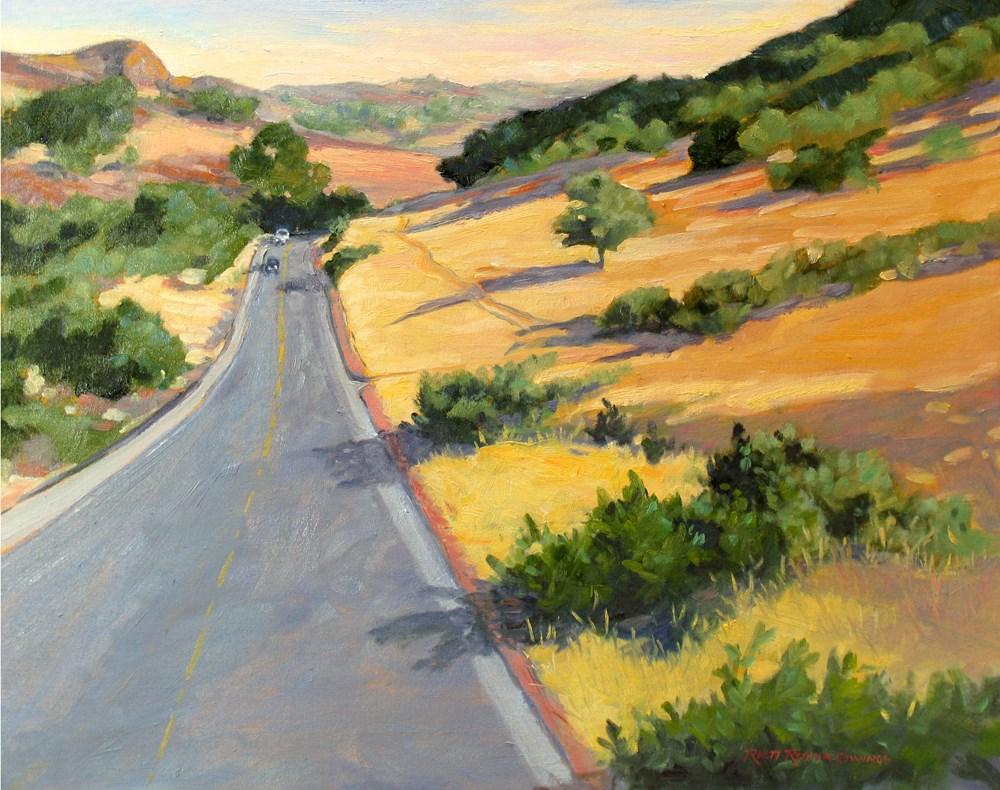 """On the Way to Sonora"" original fine art by Rhett Regina Owings"