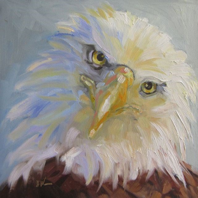 """""""ISIS"""" original fine art by Mb Warner"""