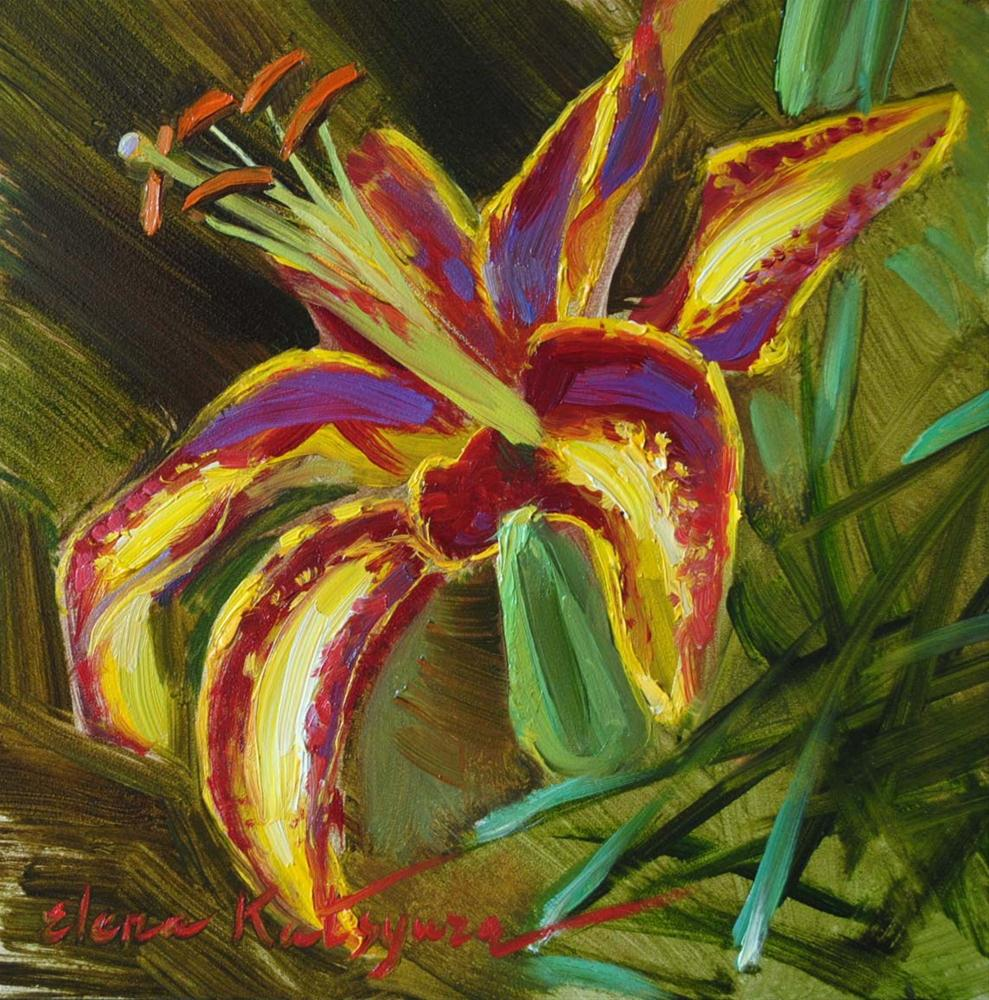 """Asiatic Lily"" original fine art by Elena Katsyura"