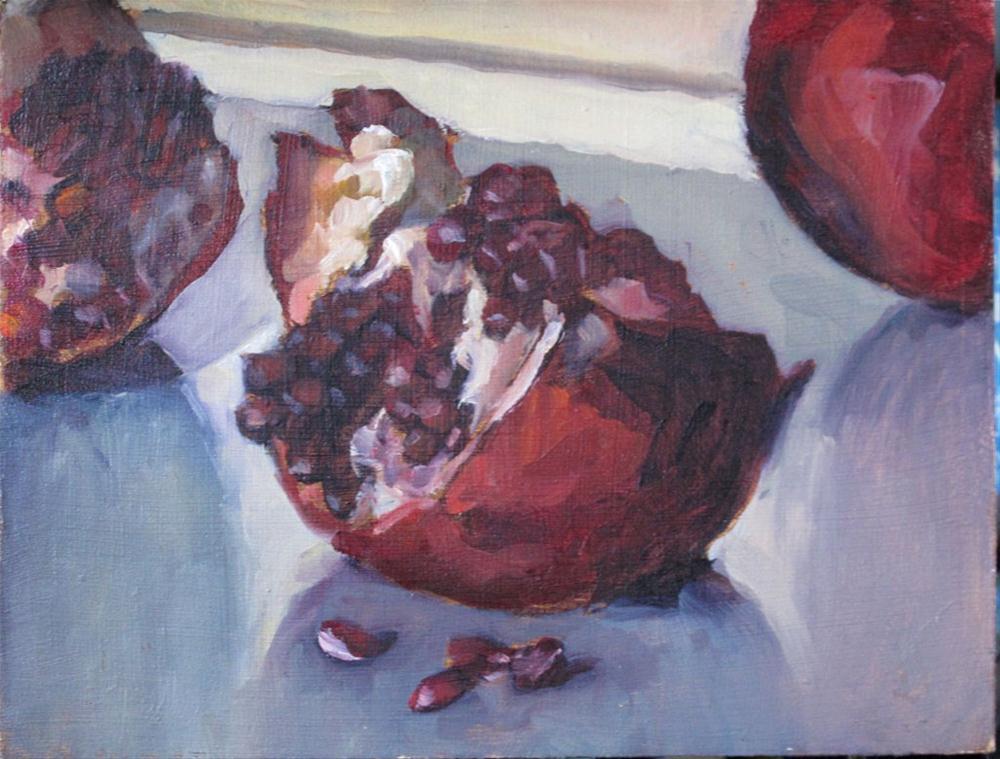 """Persephone's feast 1"" original fine art by Myriam Kin-Yee"