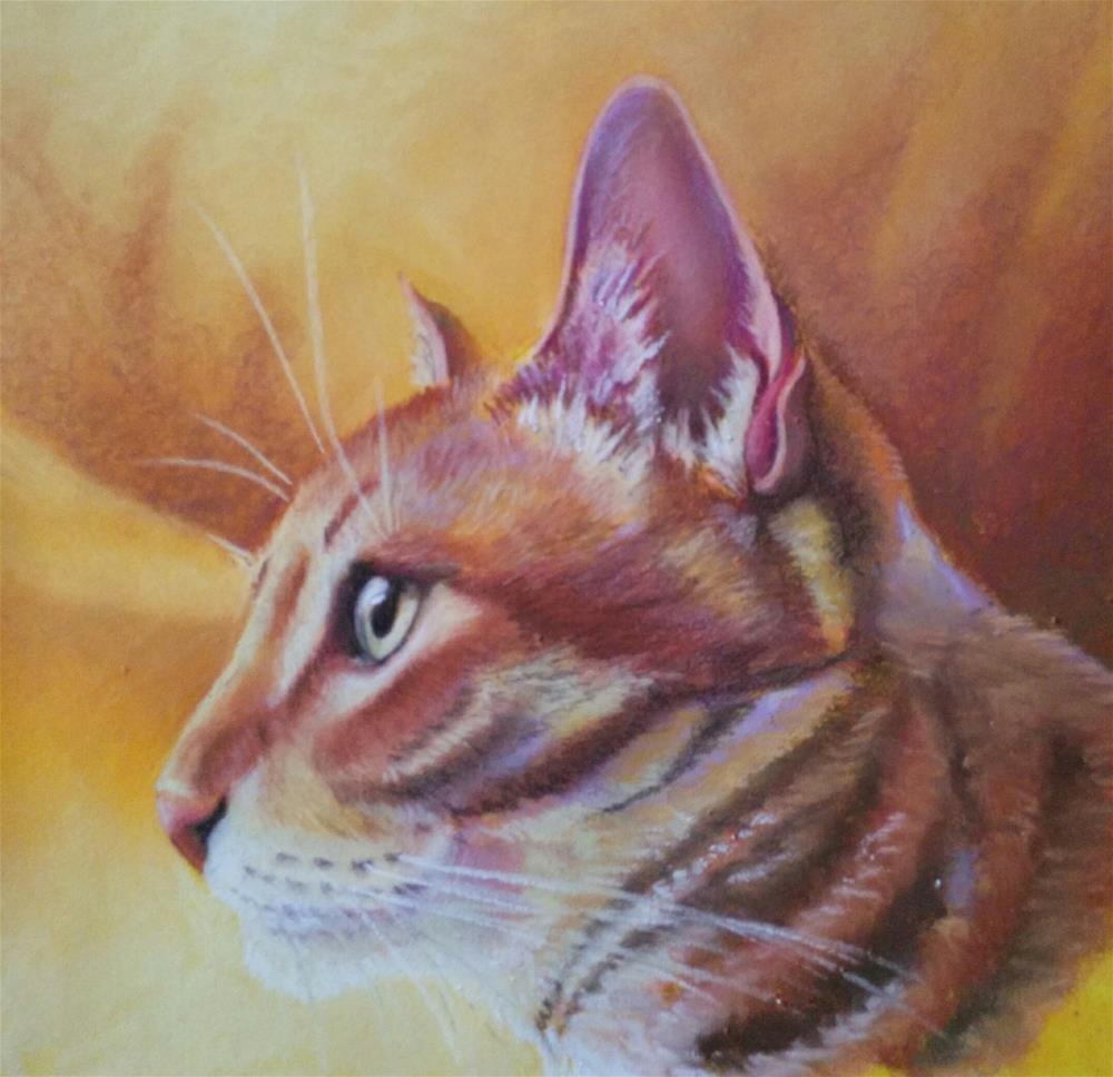 """Hunter"" original fine art by Elaine Lynest"