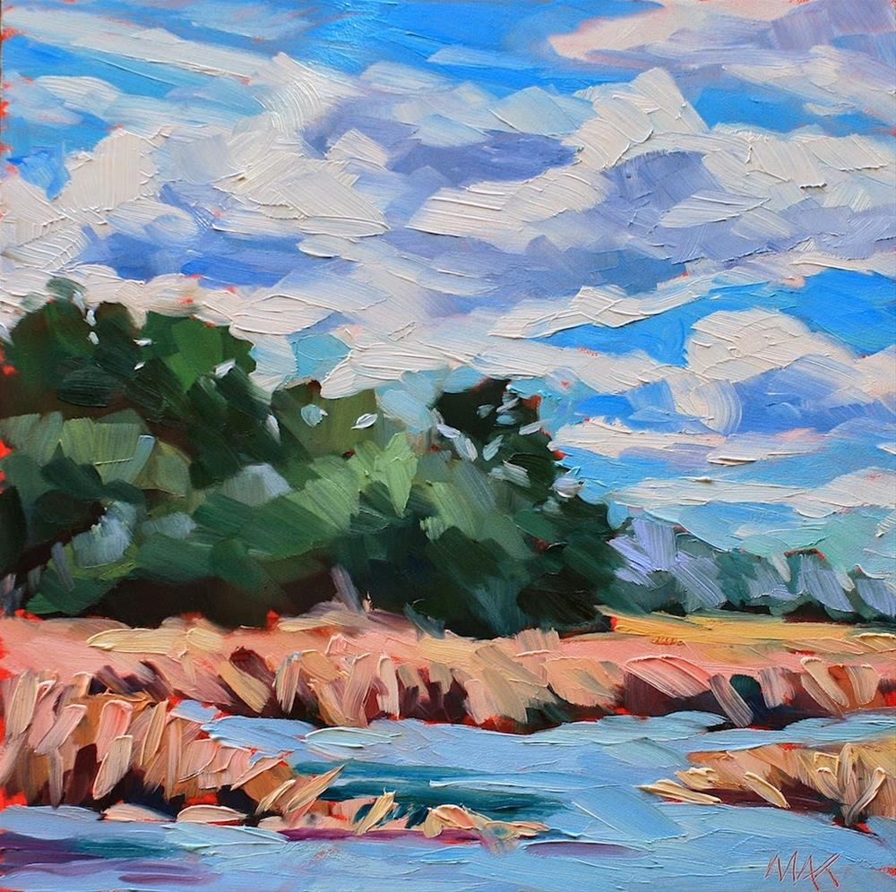 """""""Low Country Marsh"""" original fine art by Mary Anne Cary"""