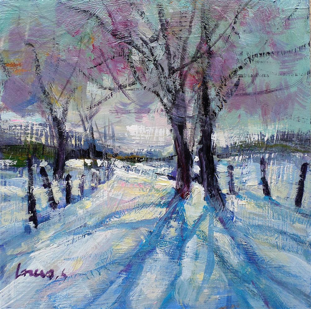 """First snow"" original fine art by salvatore greco"