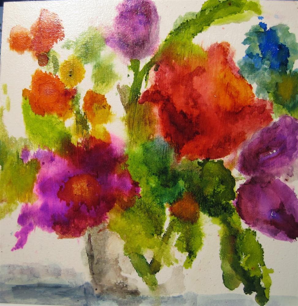 """311. Spring Forward"" original fine art by Diane Campion"
