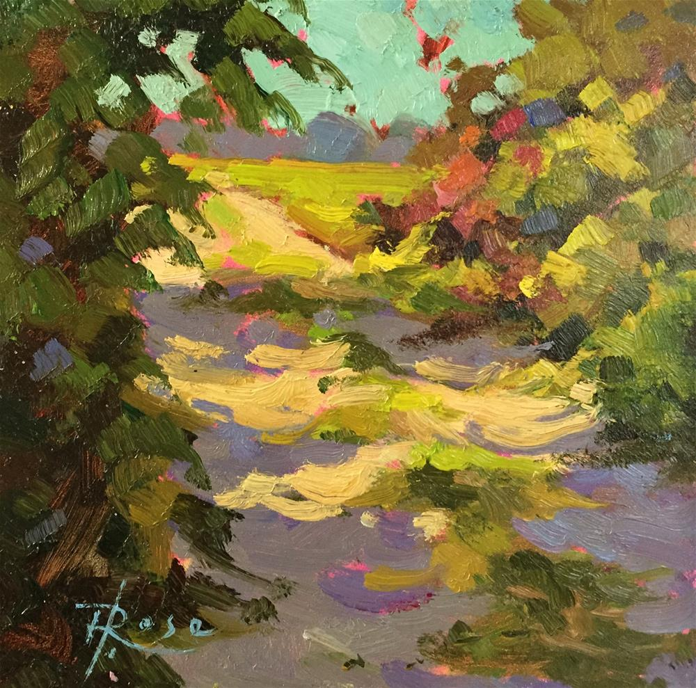 """Woodbury park"" original fine art by Howard Rose"