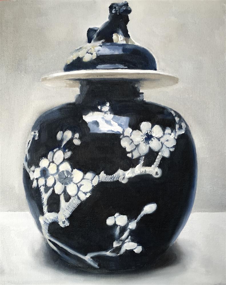 """Chinese Porcelain"" original fine art by James Coates"