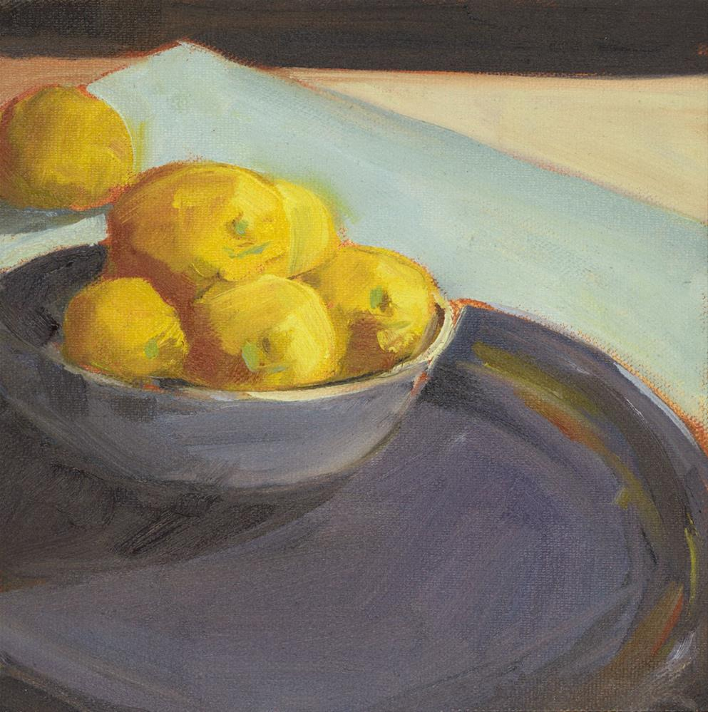 """1089: When Life Gives You Lemons"" original fine art by Brian Miller"