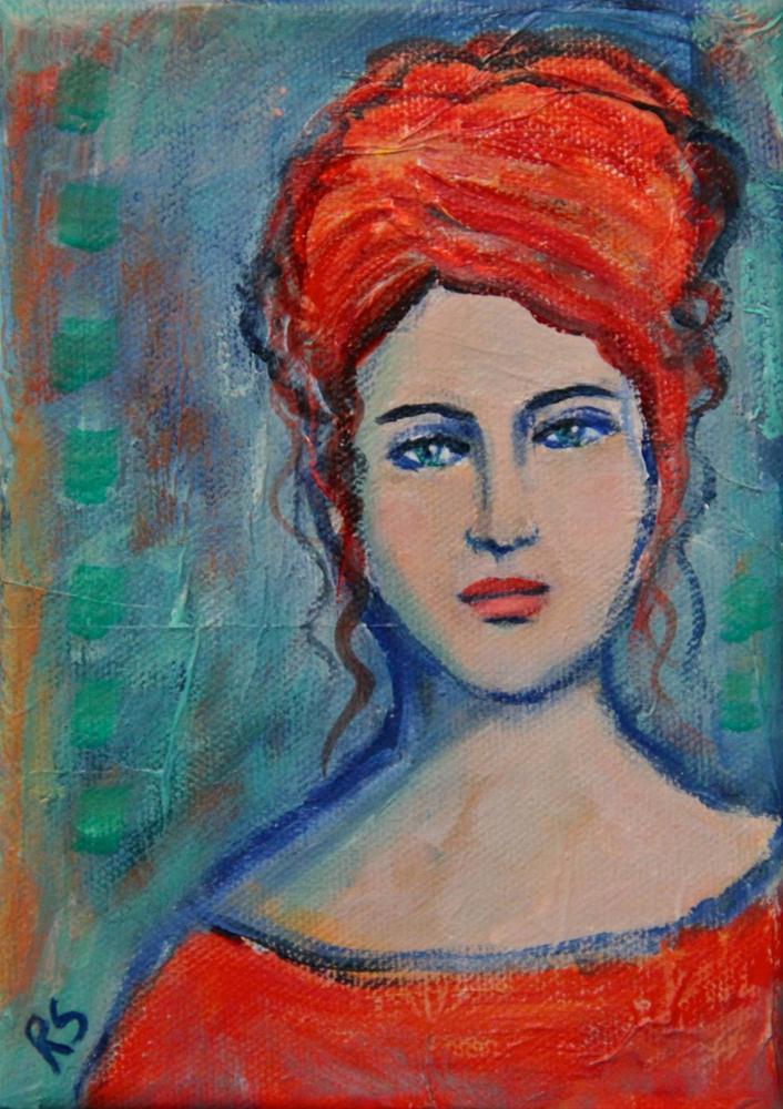 """Kristianna"" original fine art by Roberta Schmidt"
