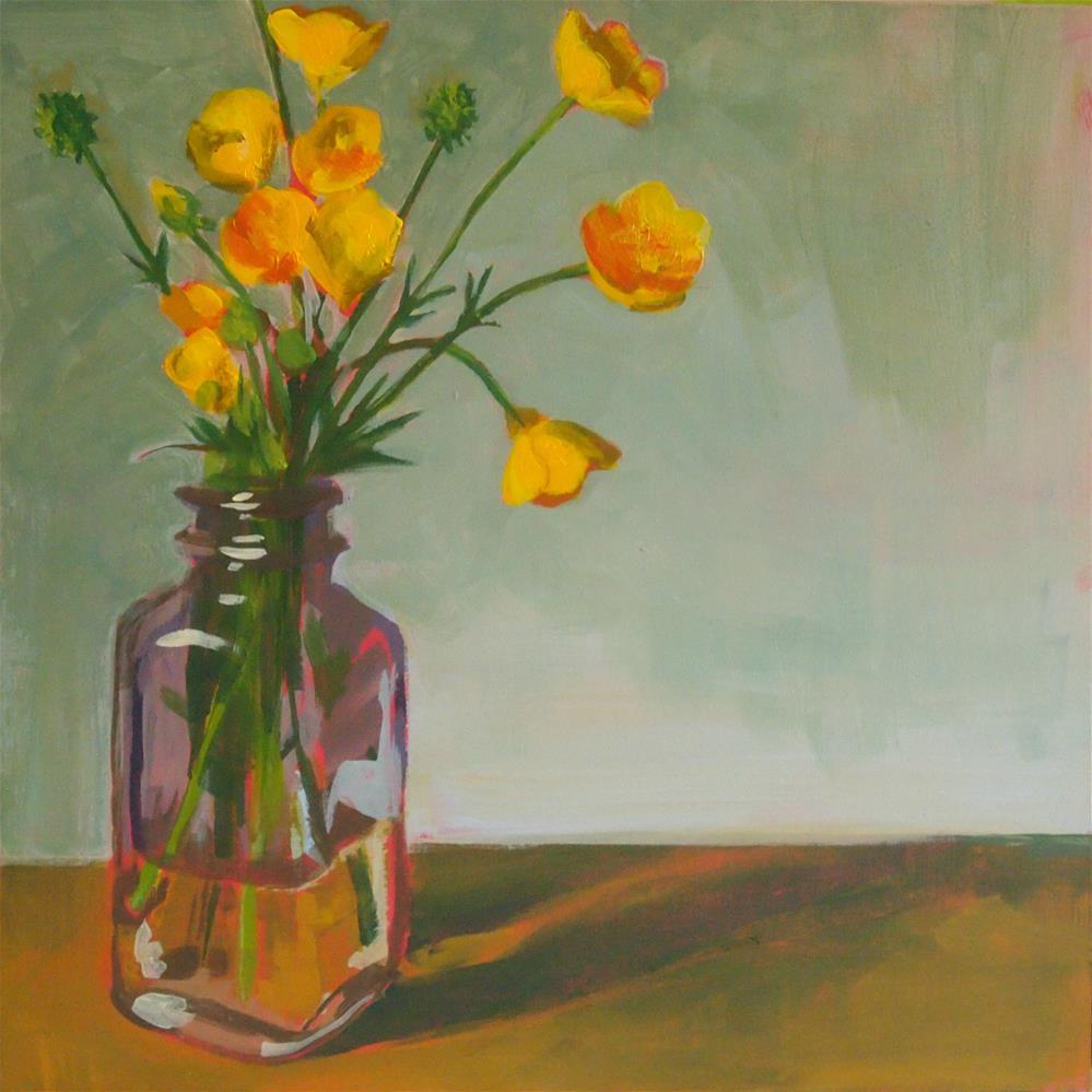 """buttercups"" original fine art by Cindy McDonough"