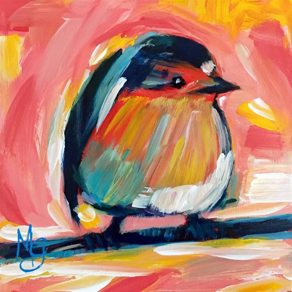 """""""Little Three"""" original fine art by Melissa Gresham"""