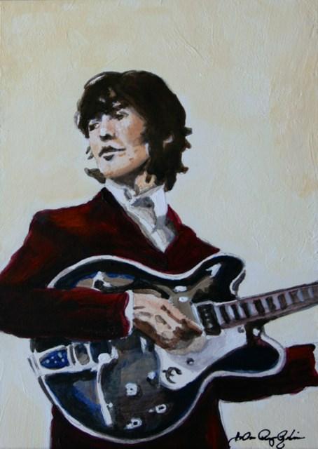 """George"" original fine art by JoAnne Perez Robinson"