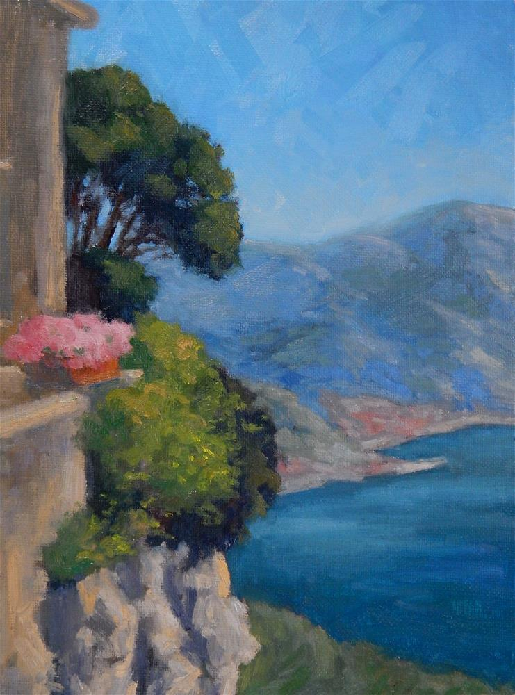 """""""View from Ravello"""" original fine art by Lisa Kyle"""