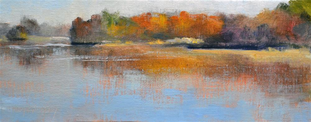 """Autumn Colors"" original fine art by Maryann Cleary"