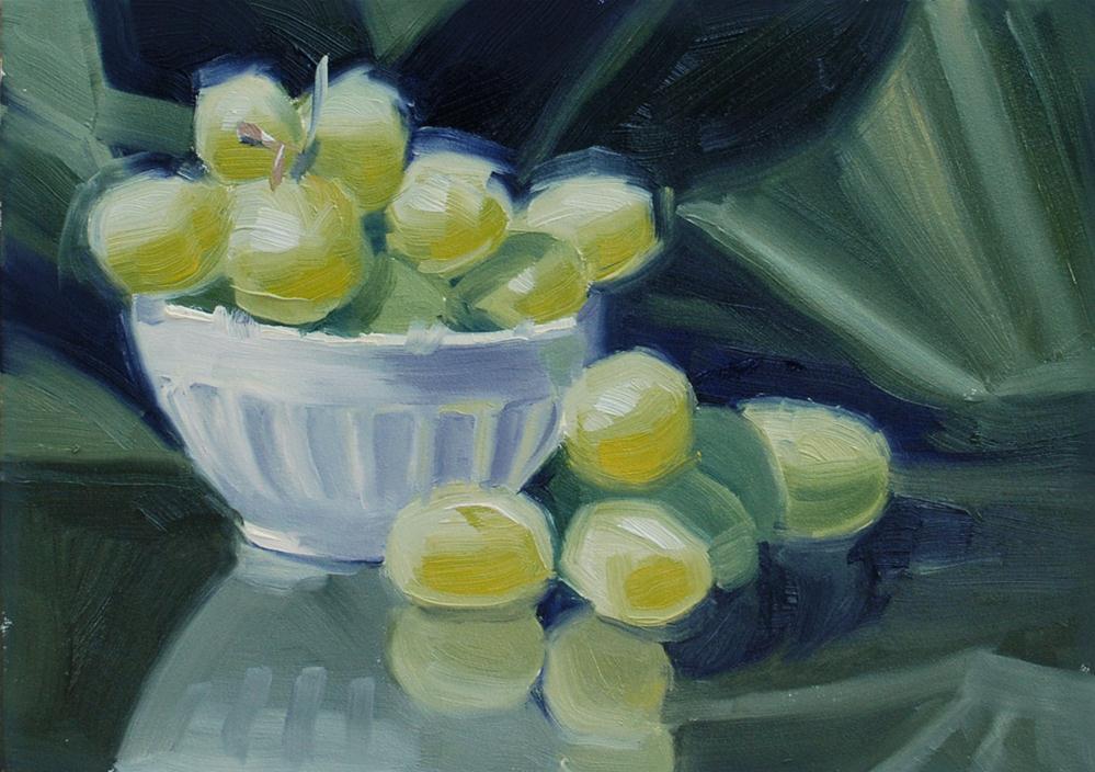 """Grape Study"" original fine art by Susan McManamen"