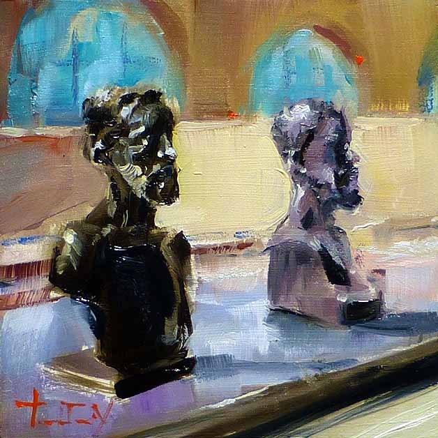 """Musée d'Orsay"" original fine art by Jurij Frey"