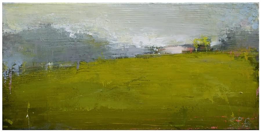 """Spanish farm house"" original fine art by Steven Goodman"