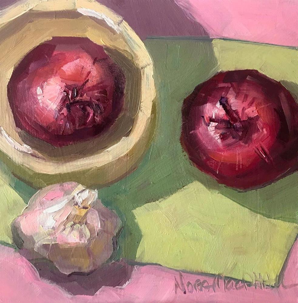 """""""twist"""" original fine art by Nora MacPhail"""