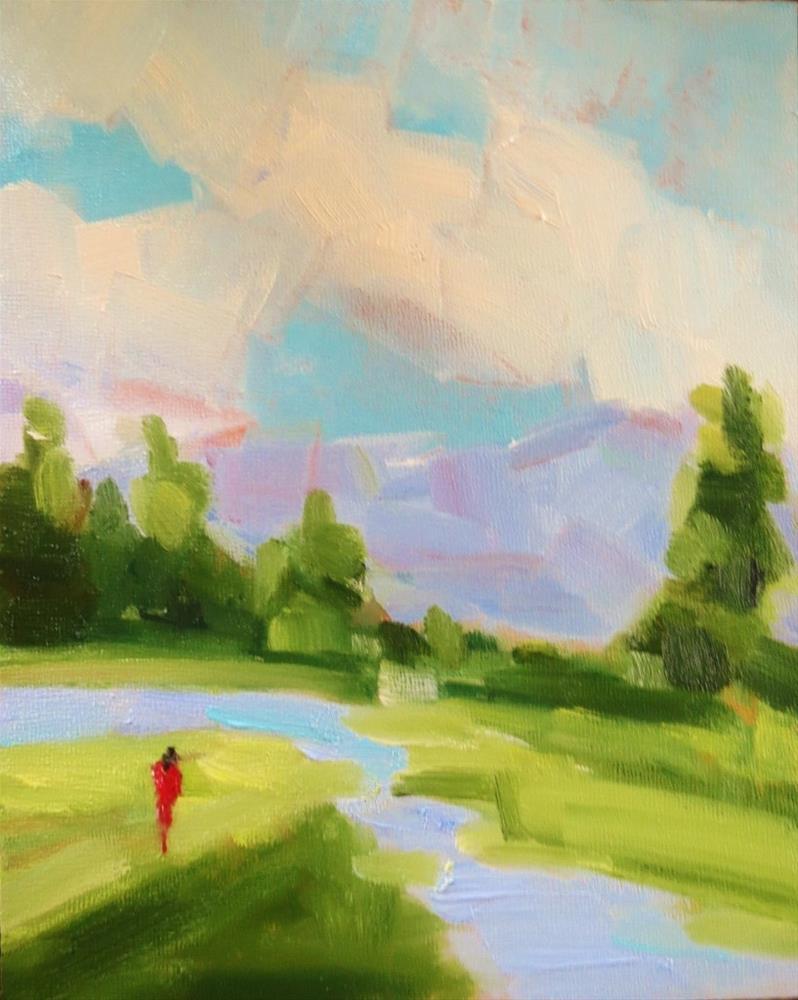 """Meadows"" original fine art by Astrid Buchhammer"