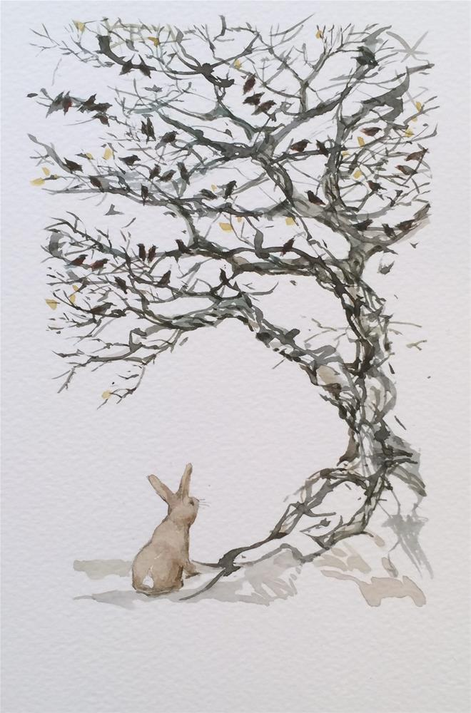 """Making Noise"" original fine art by Beatrix Pearl"