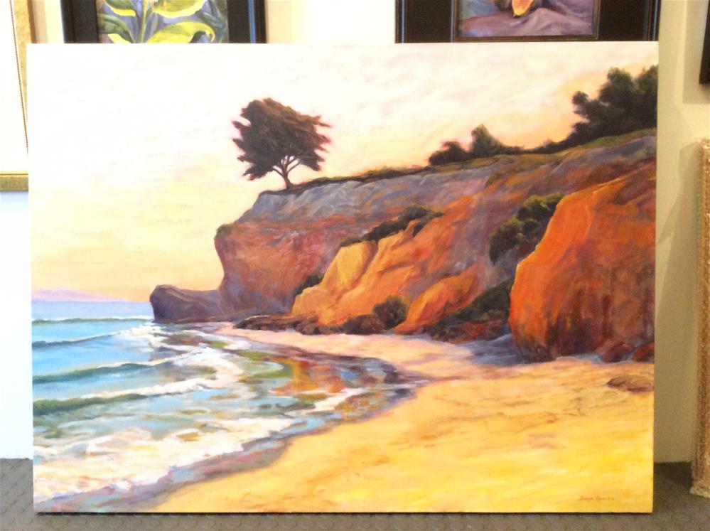 """The Point"" original fine art by Leigh Alexandra Sparks"