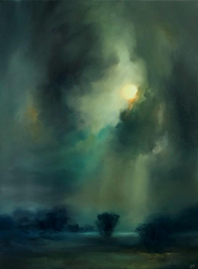 """""""Save the Light"""" original fine art by Christine E. S. Code"""