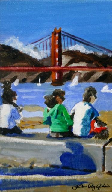 """Shadow of a Man"" original fine art by JoAnne Perez Robinson"