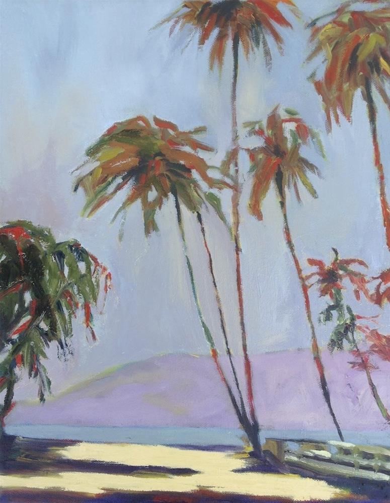 """Maui Mellow"" original fine art by Janet Bludau"