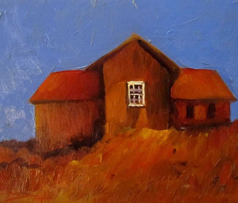 """Red Earth"" original fine art by Delilah Smith"
