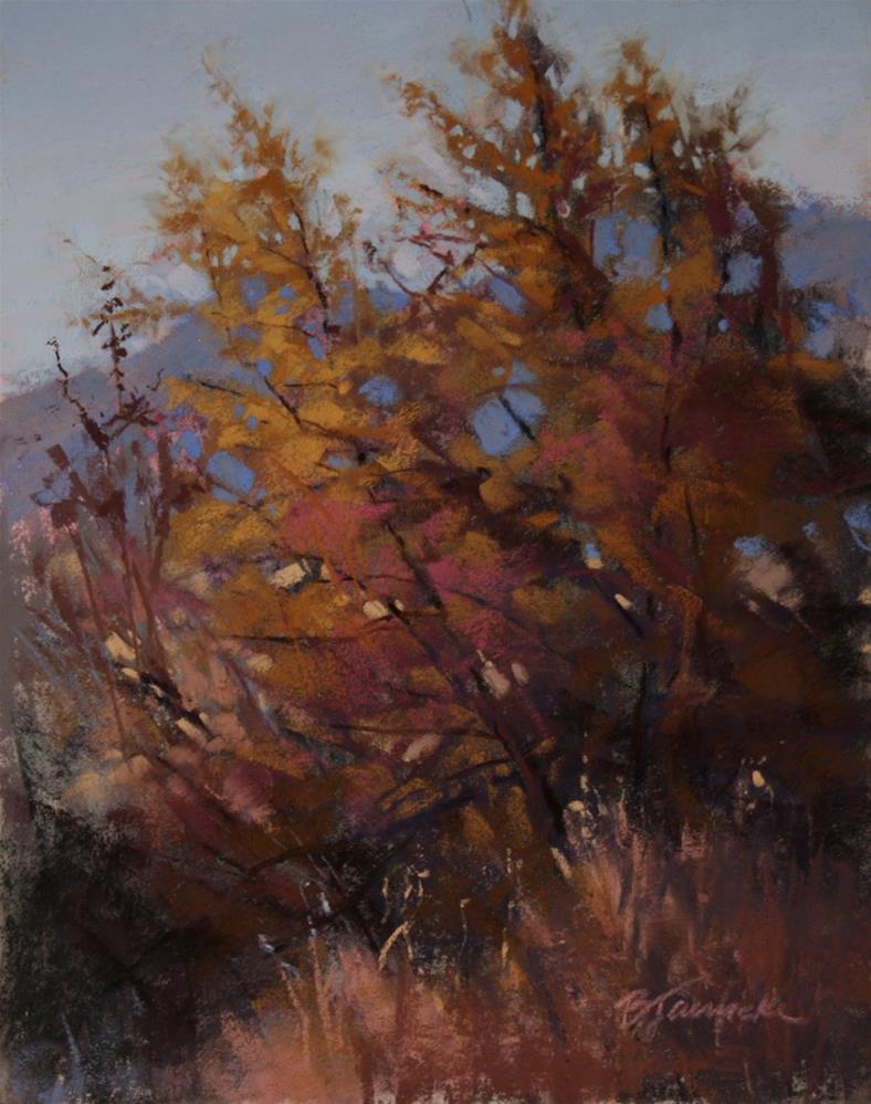 """Hidden Mountains"" original fine art by Barbara Jaenicke"