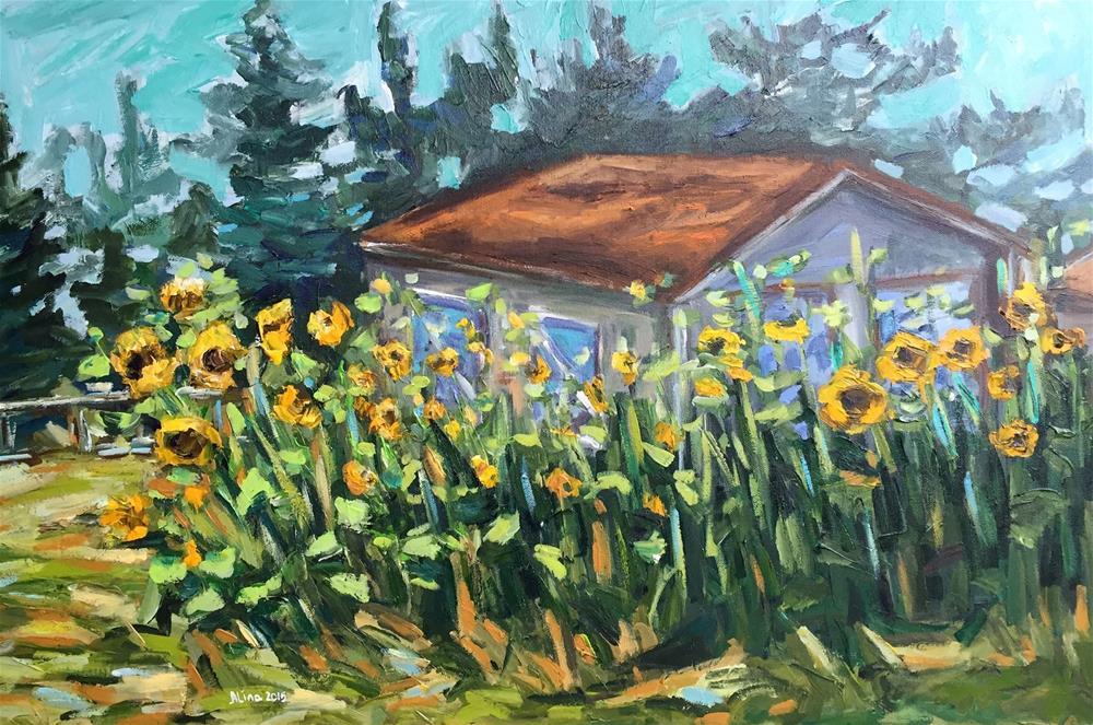 """""""Summer Day"""" original fine art by Alina Vidulescu"""