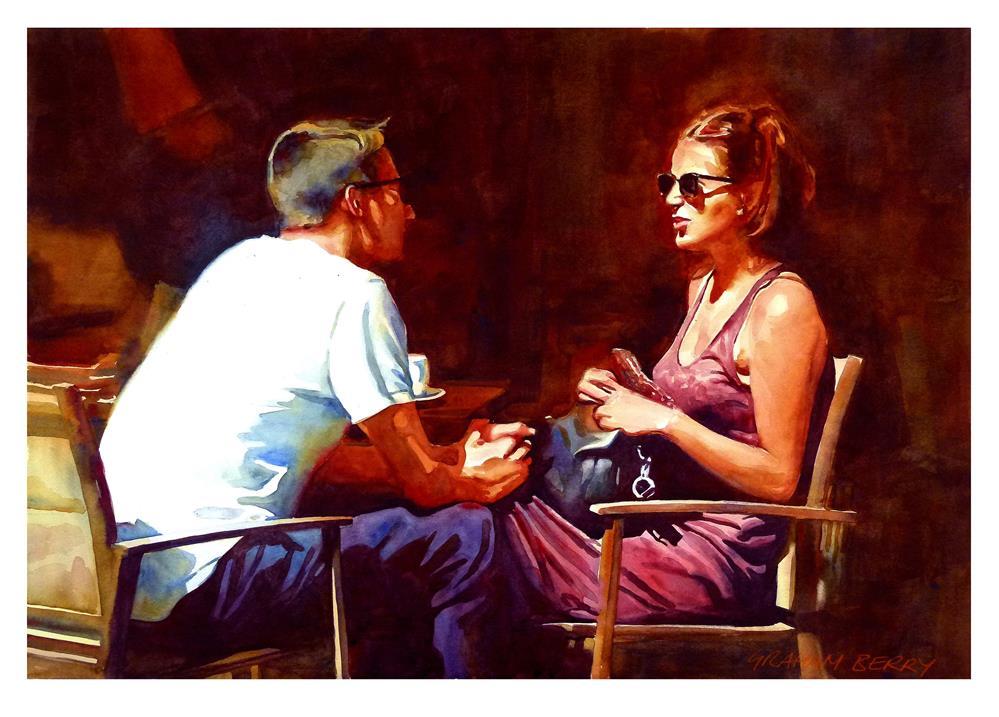 """""""Te Amo"""" original fine art by Graham Berry"""