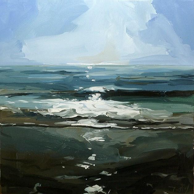 """North Sea"" original fine art by Jurij Frey"