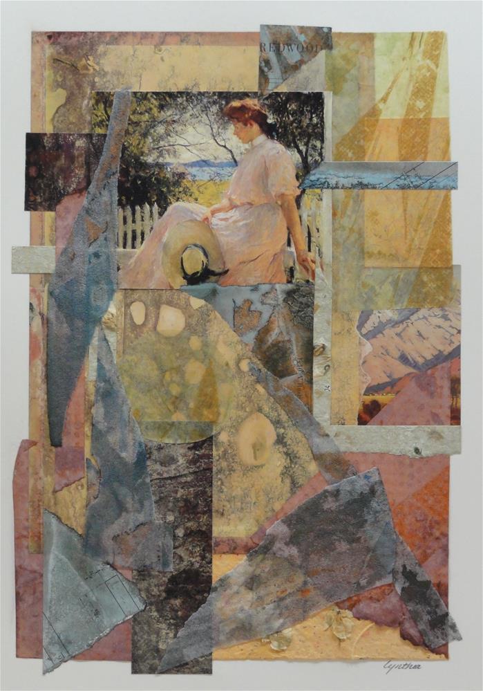 """FW Benson's Eleanor, Still Relaxing"" original fine art by Cynthia Frigon"