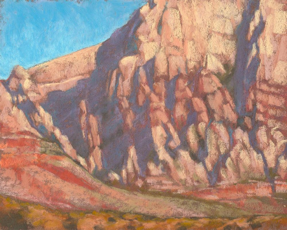 """Red Rock - from the Plein Air convention paint-out"" original fine art by Rita Kirkman"