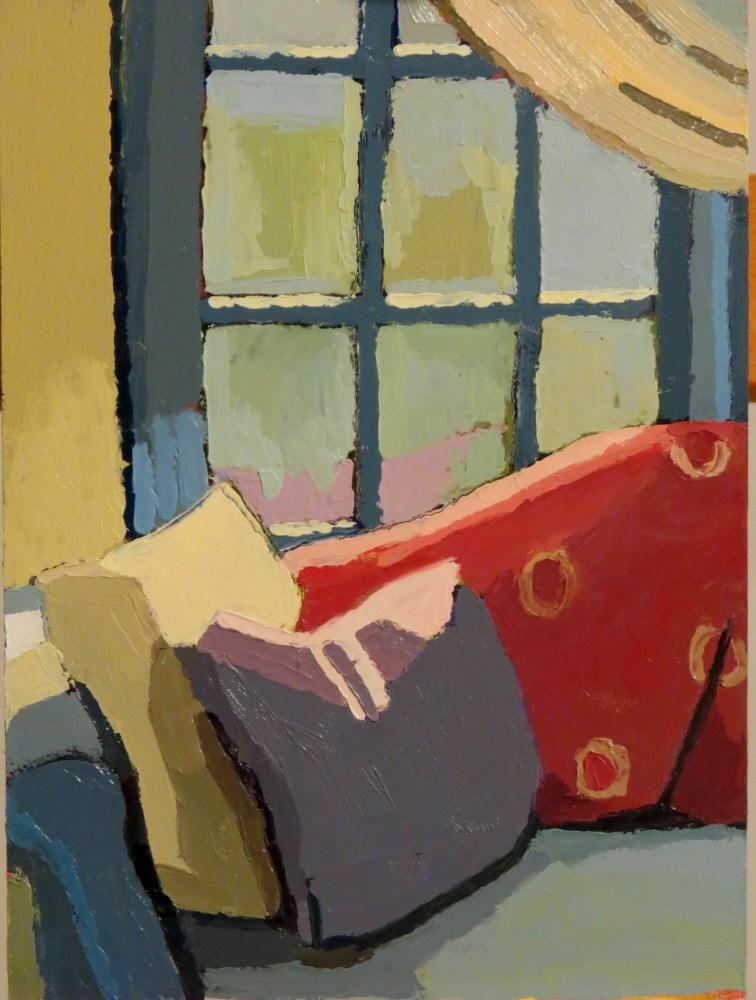 """Ethan Allen"" original fine art by Joan Wiberg"