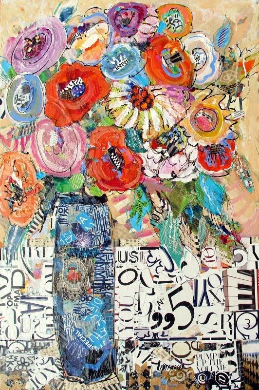 """Pump Up the Volume, 12091 NFS"" original fine art by Nancy Standlee"