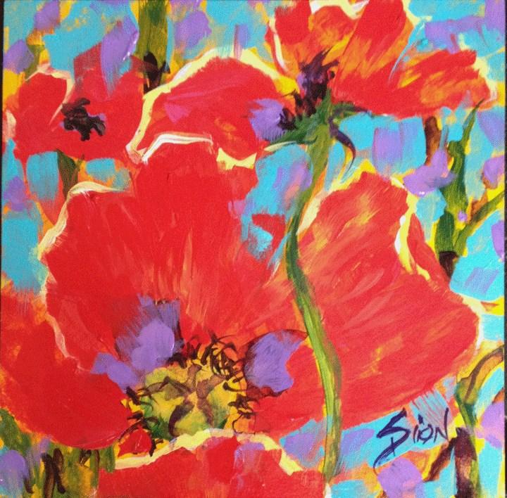 """""""Summer Wind"""" original fine art by Sue Dion"""