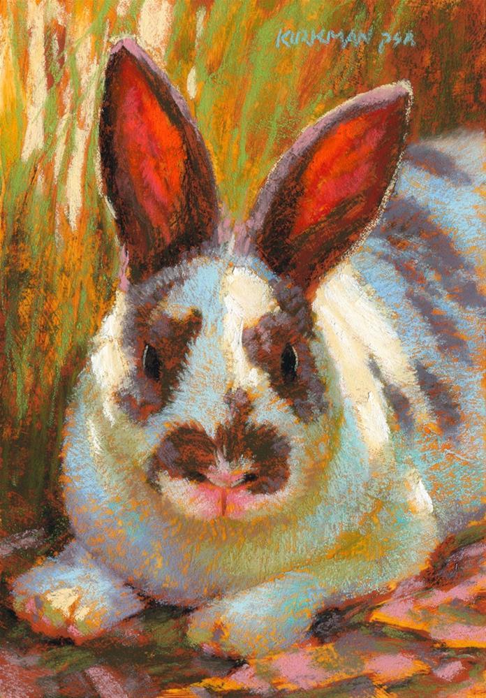 """Easter Vacation"" original fine art by Rita Kirkman"