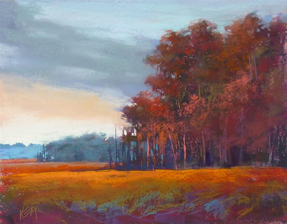 """""""Mini Week... Painting Large from a Small Color Study"""" original fine art by Karen Margulis"""