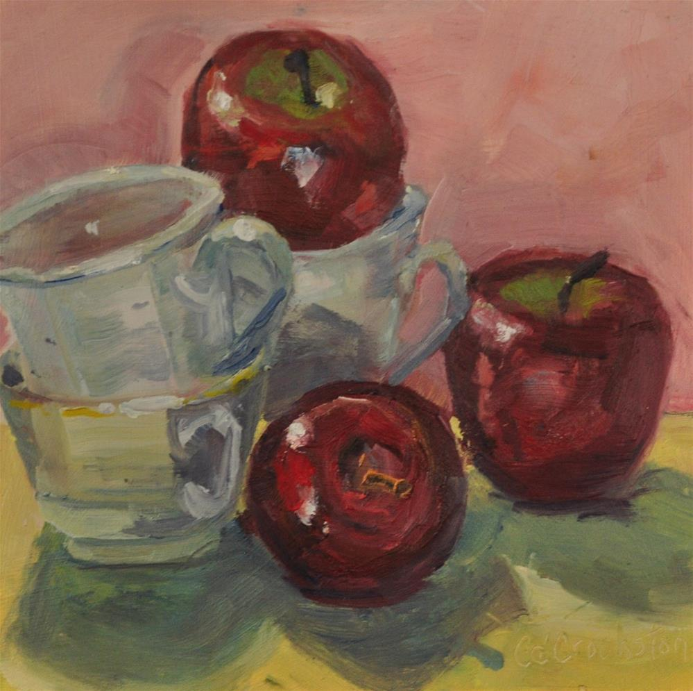 """The Threes"" original fine art by Catherine Crookston"