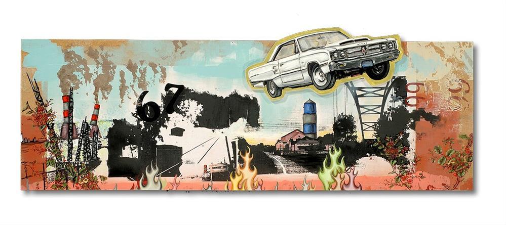 """""""67 Pano."""" original fine art by Matthew Hilbish"""