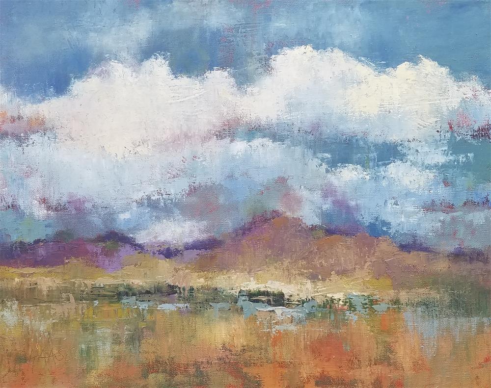"""""""Sonoita Skies"""" original fine art by Cindy Haase"""