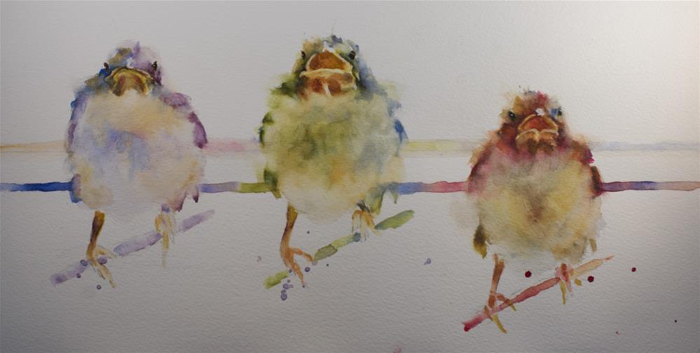 """""""Do-Re-Mi"""" original fine art by Sue Churchgrant"""