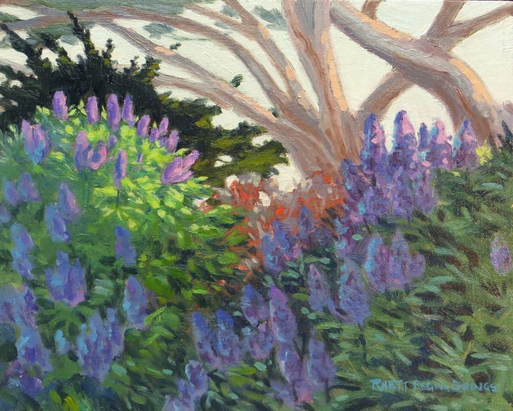 """Sunlit Pride"" original fine art by Rhett Regina Owings"