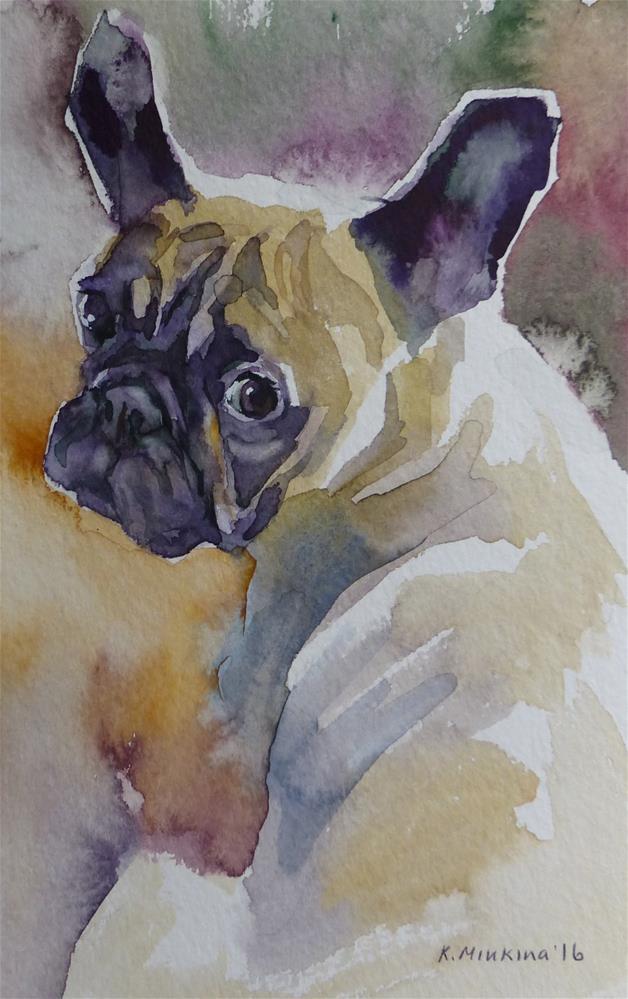 """adopt157"" original fine art by Katya Minkina"