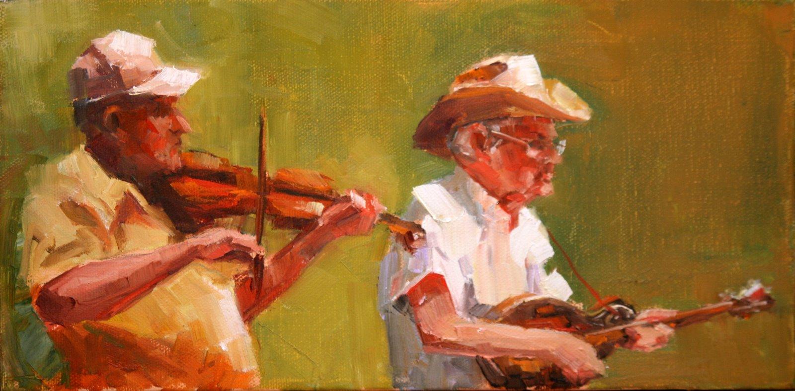 """""""kentucky bluegrass"""" original fine art by Carol Carmichael"""