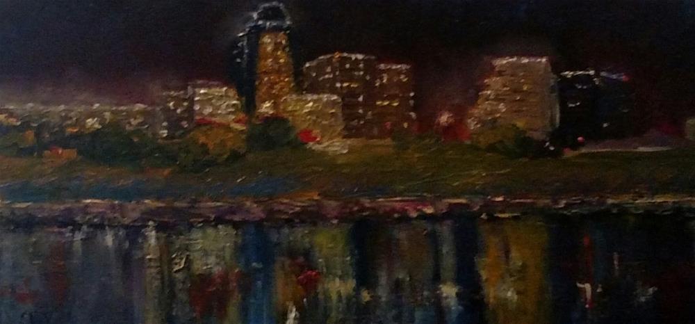 """""""Shreveport Fog"""" original fine art by S. Lynne Price"""
