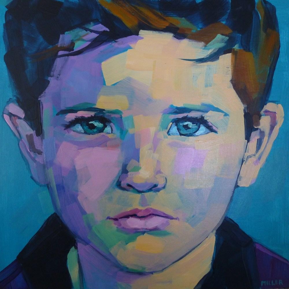 """""""Portrait Commission"""" original fine art by Jessica Miller"""